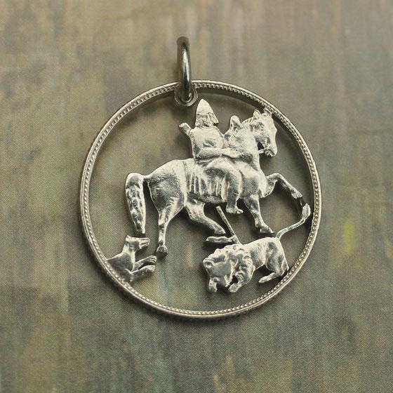 Münzsagewerk Katrin Thull   Bulgarien - Zar Boris III. auf Pferd