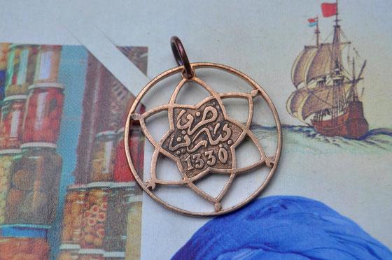 Münzsägewerk Katrin Thull | Marokko - Blume Ornament
