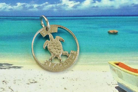 Münzsägewerk Katrin Thull | Fiji - kleine Meeresschildkröte