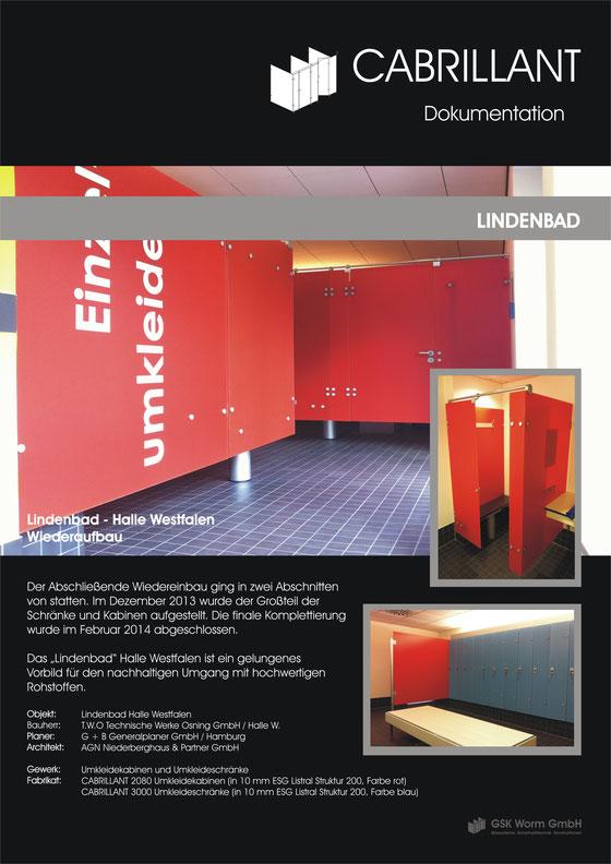 WC Trennwände, Glastrennwände, Umkleideschränke, Dusch - Trennwände, CABRILLANT, GSK Worm GmbH
