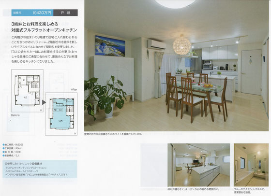 システムキッチン システムバス浴室