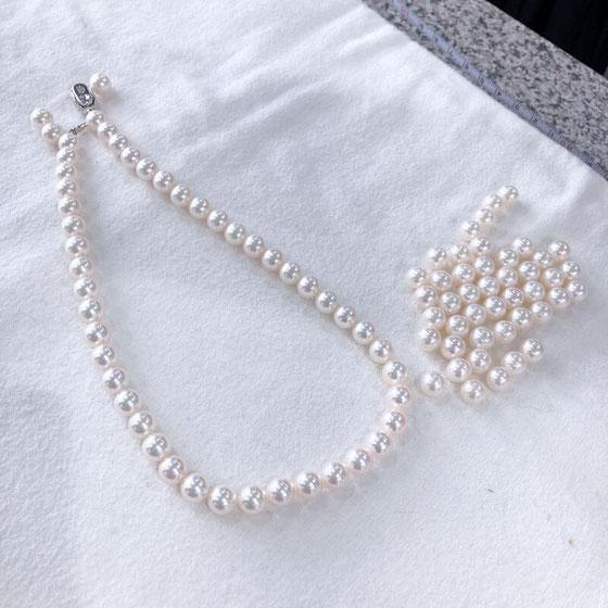 あこや真珠の珠合わせ