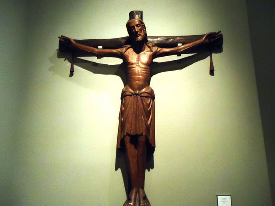 Жёлтый Христос - известные картины Поля Гогена