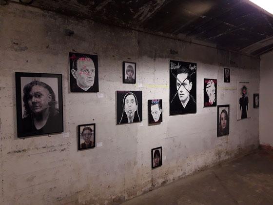 """Transformation"", Bunker K101, Lange Nacht der Museen, Enter Art Foundation, Köln 2018"