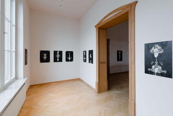 """""""Splitter"""" (Einzelausstellung), Osthaus Museum, Hagen, 2017, Foto: Tom Schleicher"""