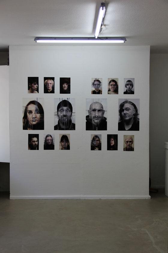 """""""Shot to nothing"""", Polarraum für Kunst der Gegenwart, Hamburg, 2018"""