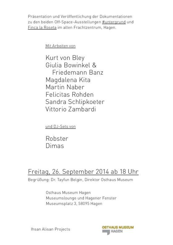 Martin Naber, Ihsan Alisan Project @ Osthaus Museum, Hagen