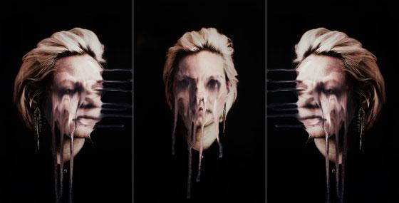 """""""Triptychon diffluence 4"""", Fotografie, Lack, Maße variabel, 2016"""