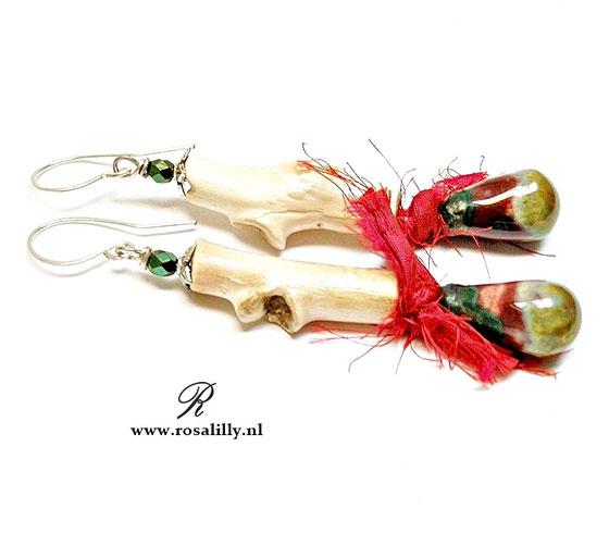 woodland sieraden, kunstzinnige sieraden, natuur sieraden