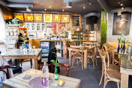 オスロにある小さなグリーン・カフェ Photo:Asaki Abumi