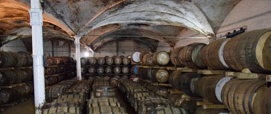 Deanston Distillery Warehouse - Foto Ralf Zindel