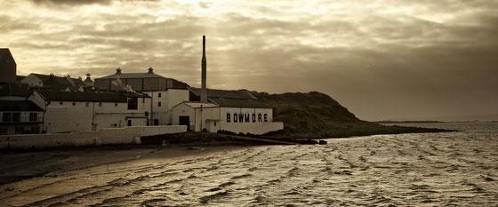 Bowmore Hauptstadt und Whisky Distillery von Islay