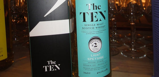 Aultmore Single Malt Whiskys aus der Serie The TEN - Foto Ralf Zindel