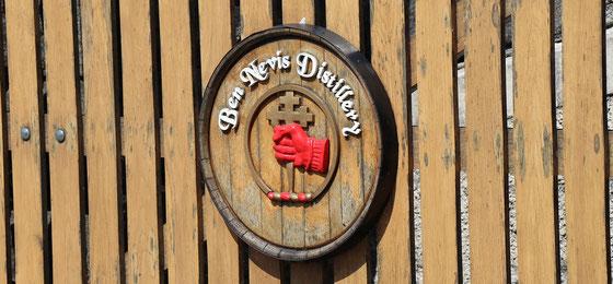Ben Nevis Distillery - Clan der MacDonalds - Foto Ralf Zindel
