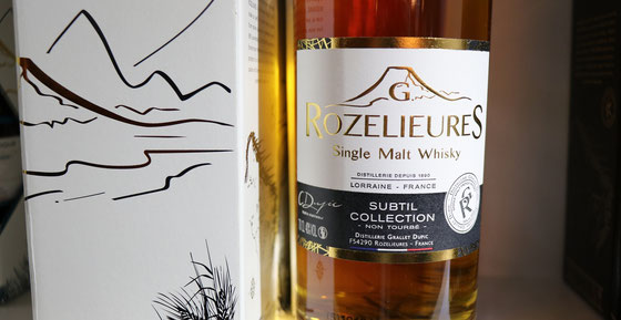 G. Rozelieure Single Malt Whisky Subtile