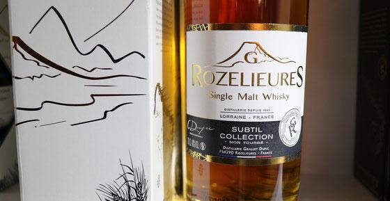 G. Rozelieure Single Malt Whisky Subtile - Foto Tasting Room Mannheim