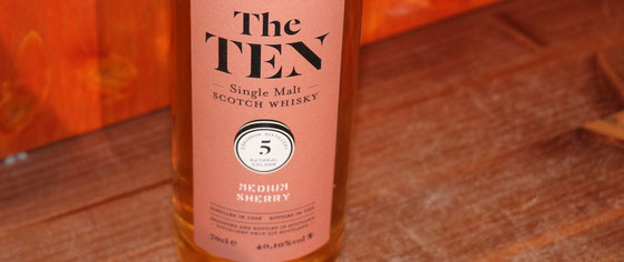 Edrodour Single Malt Whiskys aus der Serie The TEN - Foto Ralf Zindel