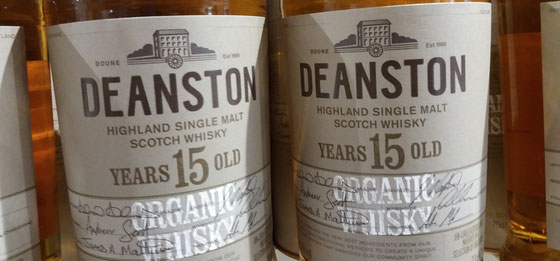 Deanston Organic Single Malt 15 Years Old - Foto Ralf Zindel