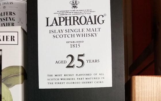 Laphroaig 25 Jahre Cask Strength - Foto Ralf Zindel