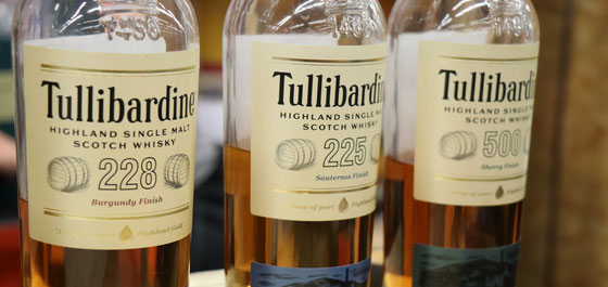 Tullibardine Single Malt Whiskys - Foto Ralf Zindel