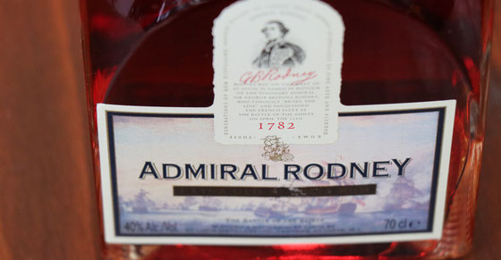 Admiral Rodney Extra Old St. Lucia Rum - Ralf Zindel
