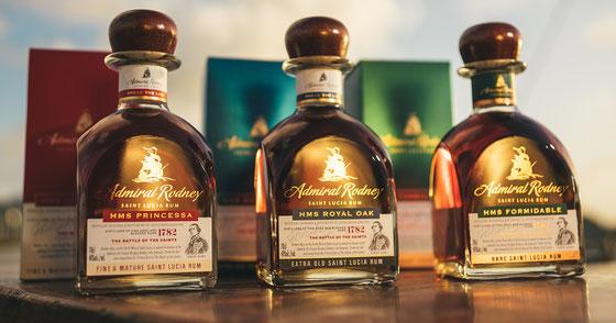 Rum aus St. Lucia - Admiral Rodney
