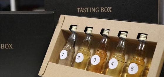 Rum Tasting Box vom Tasting Room Mannheim