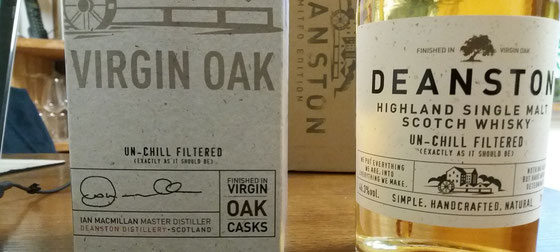 Deanston Single Malt Virgin Oak - Foto Ralf Zindel