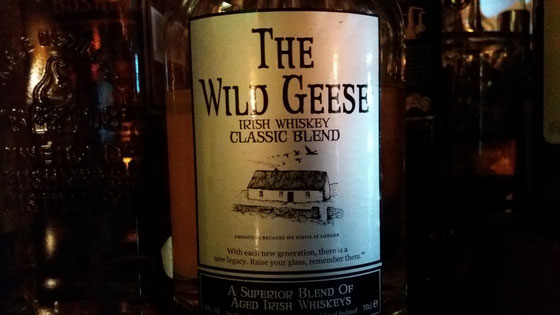 Wild Geese Irish Whiskey - Foto Ralf Zindel