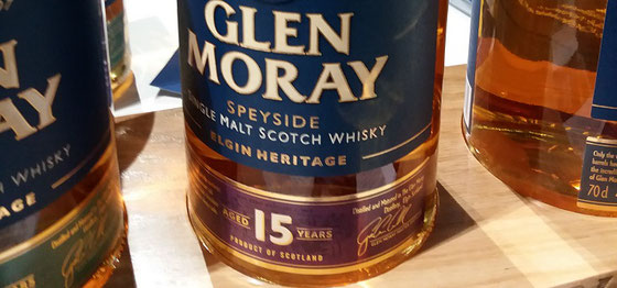 Glen Moray Single Malt 15 Jahre - Foto Ralf Zindel