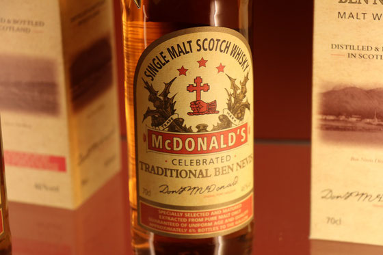 Ben Nevis Macdonalds Traditional Single Malt - Foto Ralf Zindel