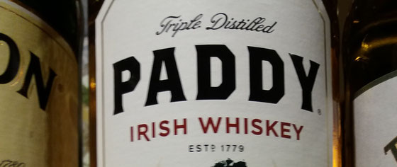 Paddy Whisky - Foto Ralf Zindel