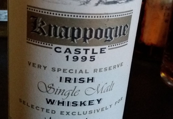 Knappogue Castle Irish Whiskey - Foto Ralf Zindel