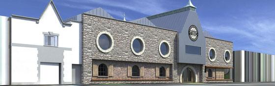 Teeling Distillery Planungsbild