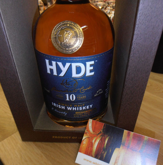 Hyde No. 1 Irish Single Malt - The Presidents Cask 10 Jahre