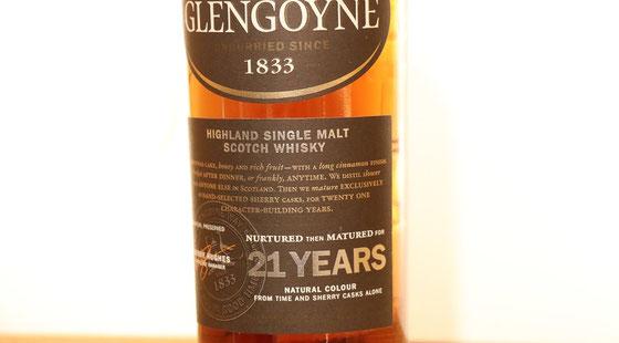 Glengoyne Single  Malt 21 Jahre - Foto Ralf Zindel