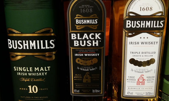 Bushmills Whiskey - Foto Ralf Zindel
