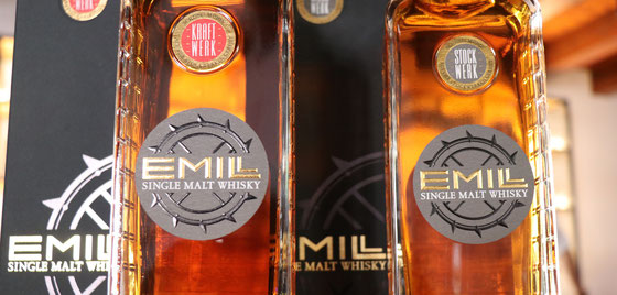 Emil - der Single Malt aus der Whisky Brennerei Mühle von SCHEIBEL