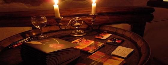 Geisterstunde - Degustationsabend mit Ralf Zindel und Scheibel Brände