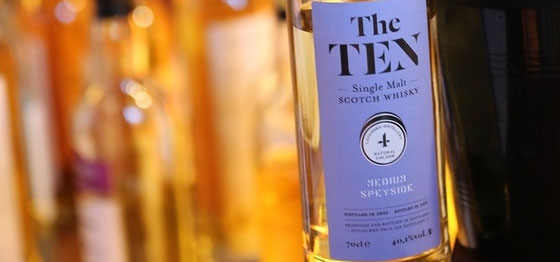 Longmorn Single Malt Whiskys aus der Serie The TEN - Foto Ralf Zindel
