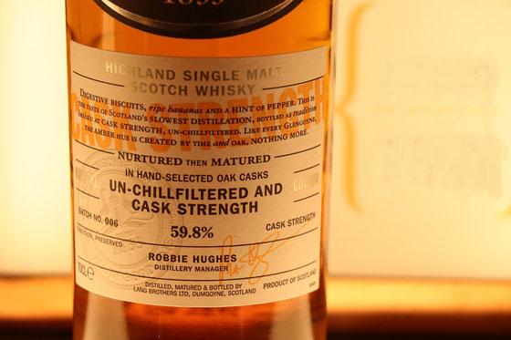 Glengoyne Single Malt Cask Strength - Foto Ralf Zindel