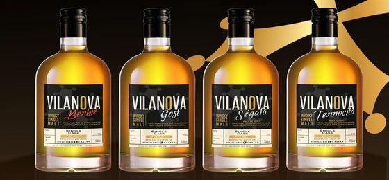 Whisky Villanova aus der Destillerie Castan