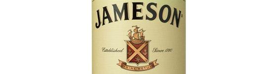 SINE METU auf dem Label von Jameson