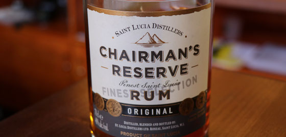 Chairman`s Reserve Rum aus St. Lucia - Ralf Zindel