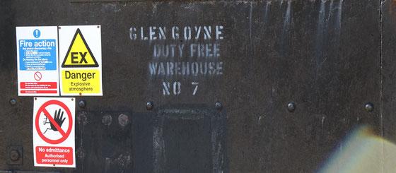 Glengoyne Warehouse - Foto Ralf Zindel