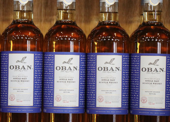 Oban Single Malt Distillery Bottle - Foto Ralf Zindel