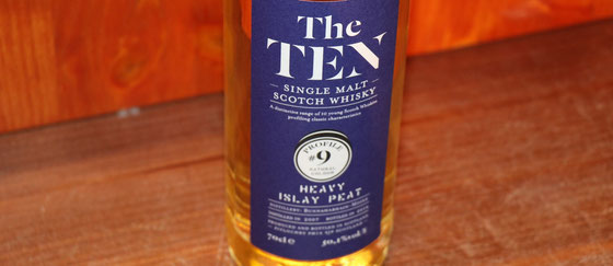 Bunnahabhain Single Malt Whiskys aus der Serie The TEN - Foto Ralf Zindel