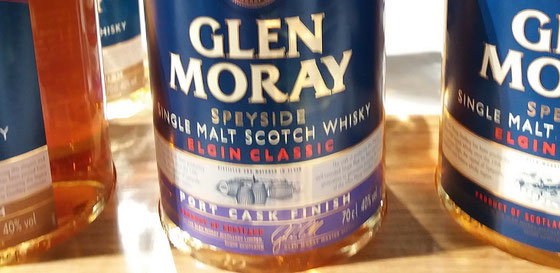 Glen Moray Port Cask Finish - Foto Ralf Zindel
