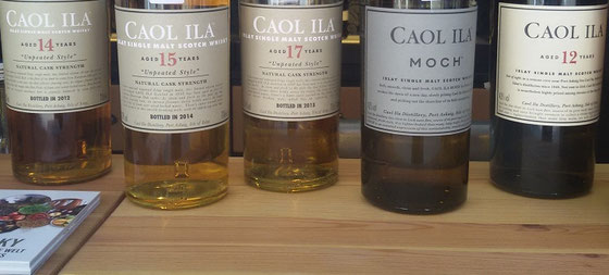 Caol Ila Single Malts - Foto Ralf Zindel