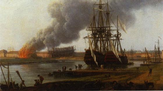 Hafen von Rochefort